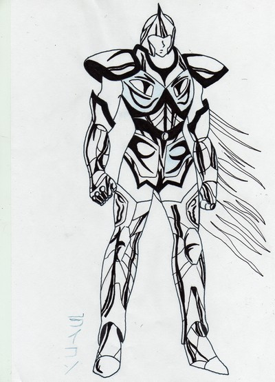 Supernova supernova cowblog - Dessin armure ...